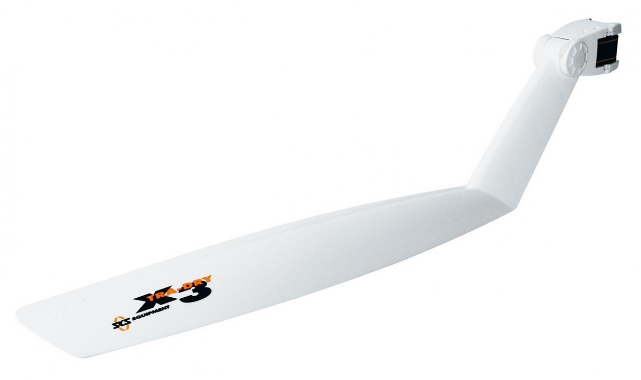 Крыло пластиковое SKS заднее X-TRA-DRY белое, код 10344
