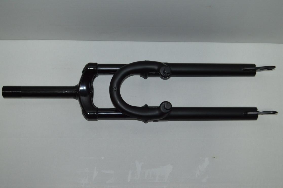 Вилка 26 амортизационная ES-122-1 сталь, резьбовая V-Brake 1/8