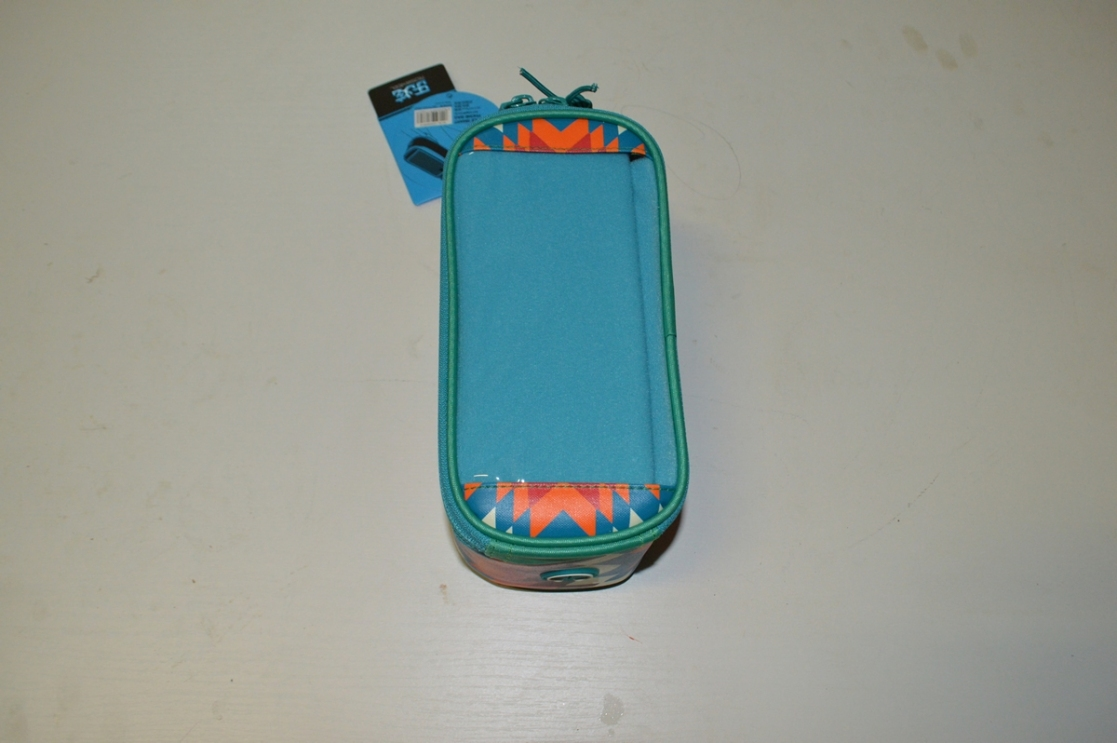 Сумка Roswheel 121024LMH-B на руль для телефона размер M салат/бел/оранж X96460