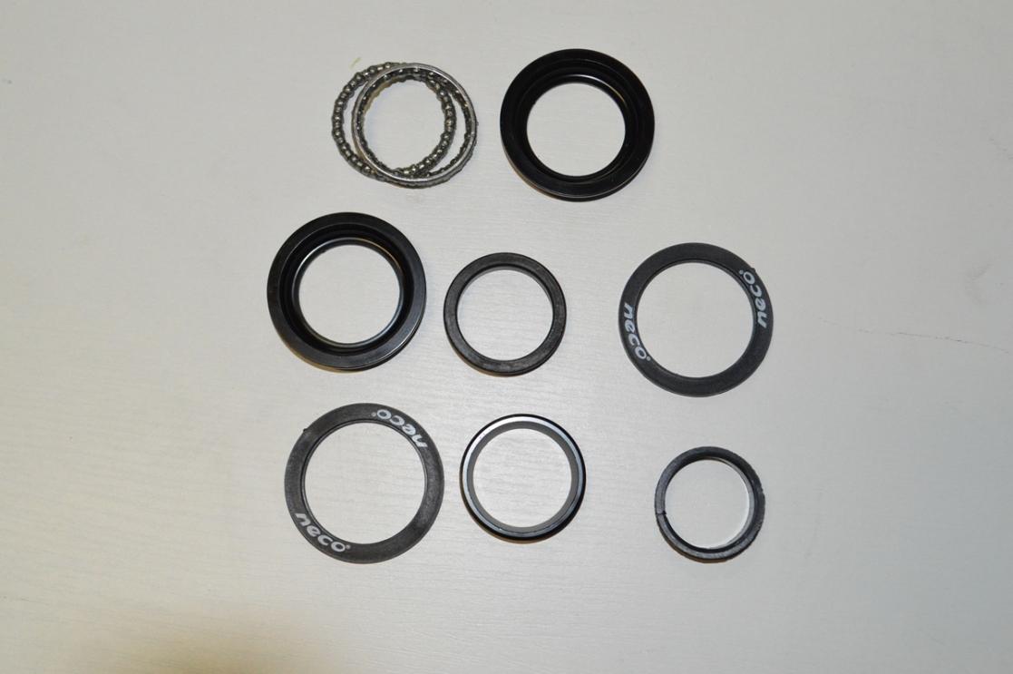 Рулевая колонка NECO полуинтег H115 1-1/8 с якорем, код 3192412